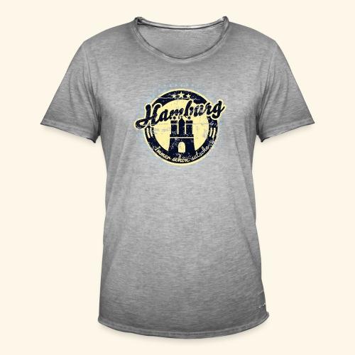 Hamburg - Männer Vintage T-Shirt