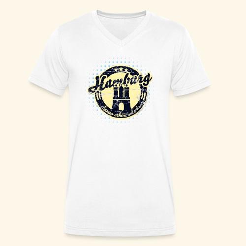 Hamburg - Männer Bio-T-Shirt mit V-Ausschnitt von Stanley & Stella