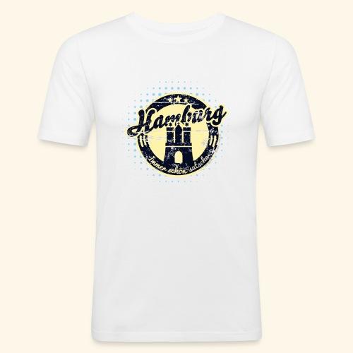 Hamburg - Männer Slim Fit T-Shirt