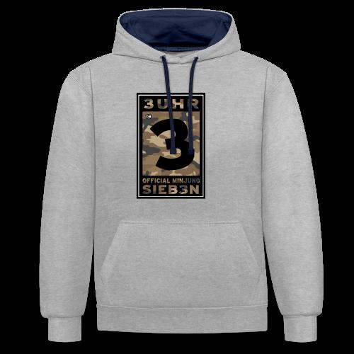 3UhrSieb3n - OFFICIAL MINJUNG   Vintage T-Shirt [Männer] - Kontrast-Hoodie