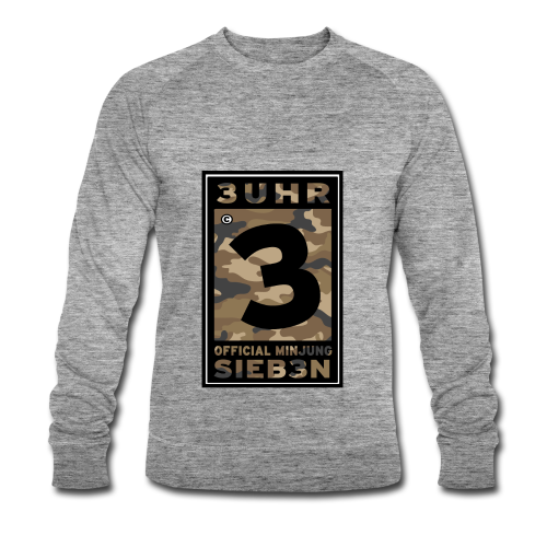 3UhrSieb3n - OFFICIAL MINJUNG | Vintage T-Shirt [Männer] - Männer Bio-Sweatshirt von Stanley & Stella