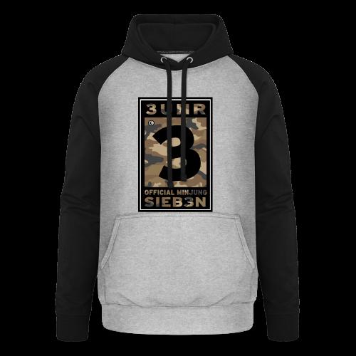 3UhrSieb3n - OFFICIAL MINJUNG | Vintage T-Shirt [Männer] - Unisex Baseball Hoodie