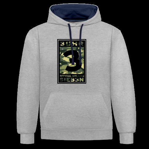 3UhrSieb3n - OFFICIAL MINJUNG | Vintage T-Shirt [Männer] - Kontrast-Hoodie