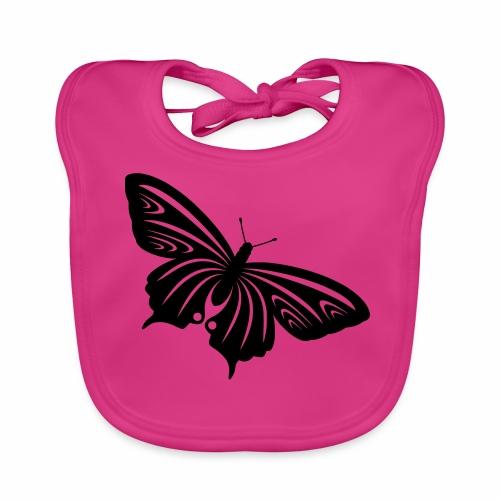 Kleiner Schmetterling C - Baby Bio-Lätzchen