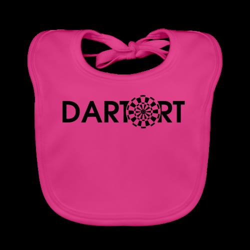 Tartort Dartsport Dartort Shirt - Baby Bio-Lätzchen