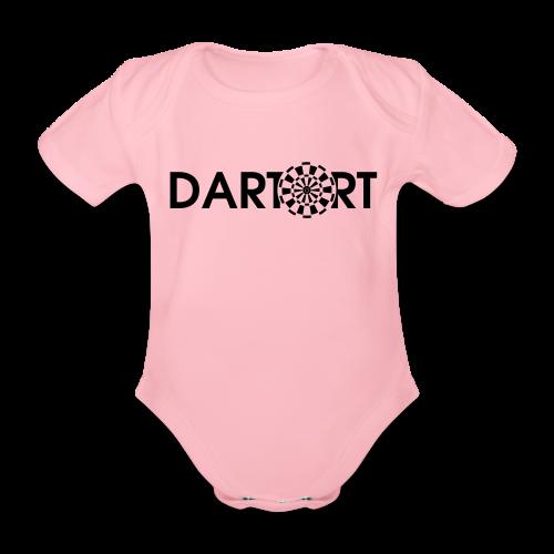 Tartort Dartsport Dartort Shirt - Baby Bio-Kurzarm-Body