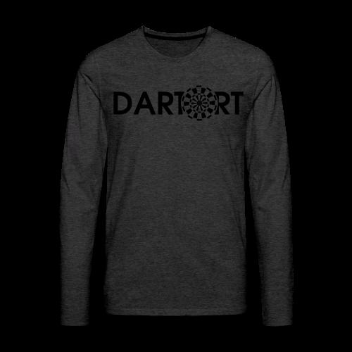 Tartort Dartsport Dartort Shirt - Männer Premium Langarmshirt
