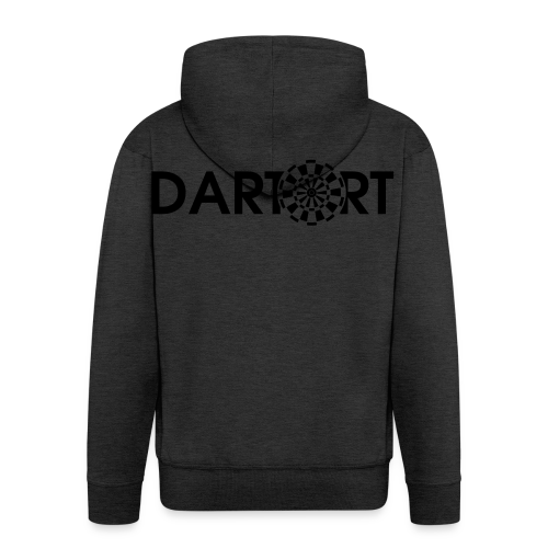 Tartort Dartsport Dartort Shirt - Männer Premium Kapuzenjacke