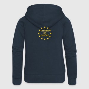 Citizen of Europe - Women's Premium Hooded Jacket