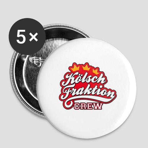 KölschFraktion CREW - Buttons mittel 32 mm (5er Pack)