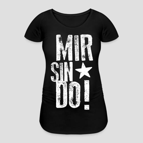 KölschFraktion CREW - Frauen Schwangerschafts-T-Shirt