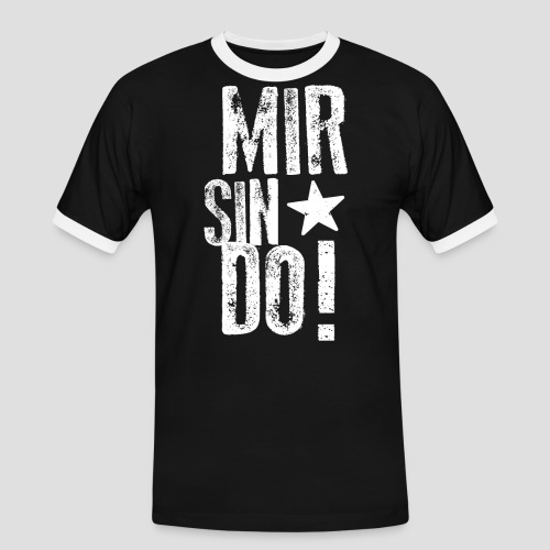KölschFraktion CREW - Männer Kontrast-T-Shirt