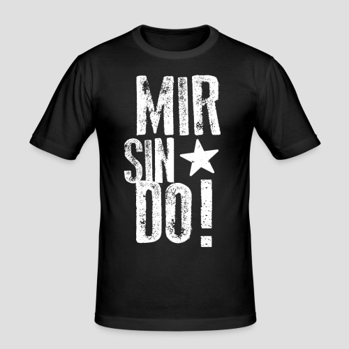 KölschFraktion CREW - Männer Slim Fit T-Shirt