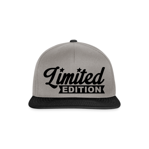 Limited Edition - Snapback Cap