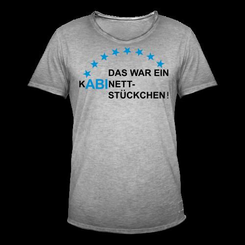 ABI-Kabinettstückchen - Männer Vintage T-Shirt