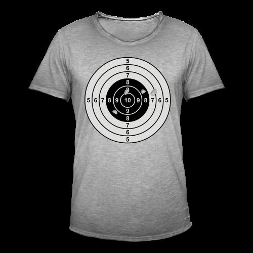Zielscheibe - Männer Vintage T-Shirt