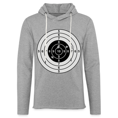 Zielscheibe - Leichtes Kapuzensweatshirt Unisex