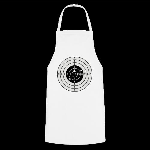 Zielscheibe - Kochschürze
