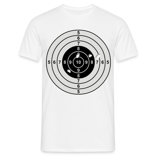 Zielscheibe - Männer T-Shirt