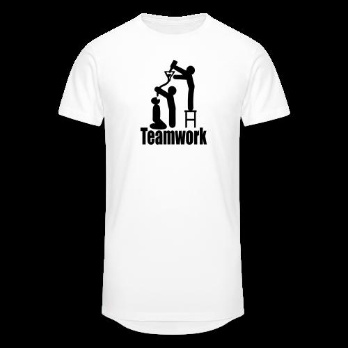 Teamwork - Männer Urban Longshirt