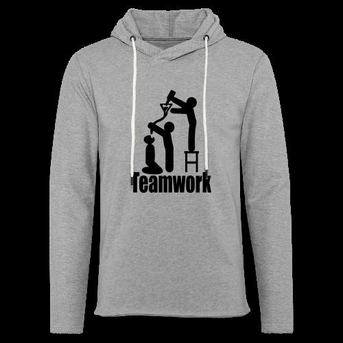 Teamwork - Leichtes Kapuzensweatshirt Unisex