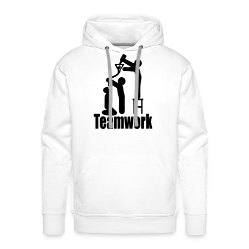 Teamwork - Männer Premium Hoodie