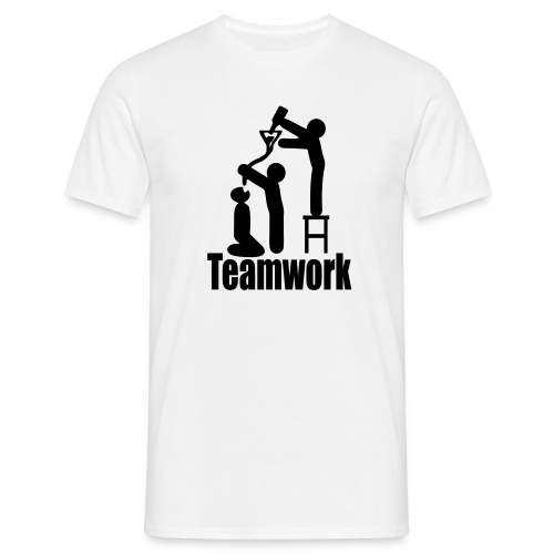 Teamwork - Männer T-Shirt