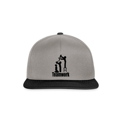 Teamwork - Snapback Cap