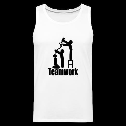 Teamwork - Männer Premium Tank Top