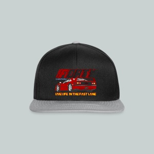 LIVE LIFE IN THE FAST LANE:  Forty - Snapback Cap