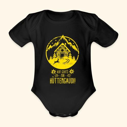 Auf geht's zur Hüttengaudi! - Baby Bio-Kurzarm-Body