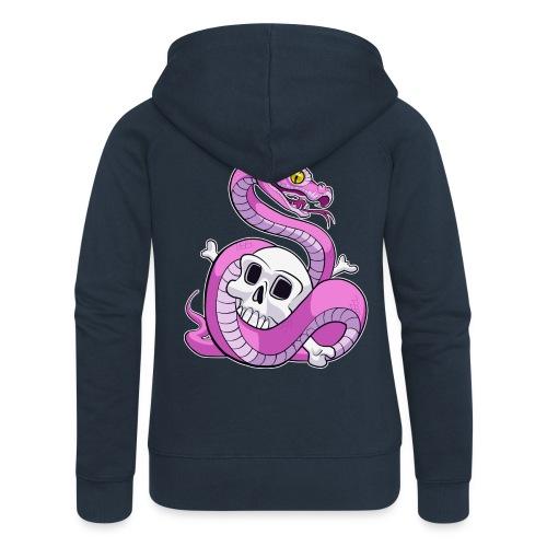 Pink Python (No Text) - Naisten Girlie svetaritakki premium