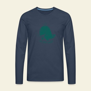 I'm very whale - T-shirt manches longues Premium Homme
