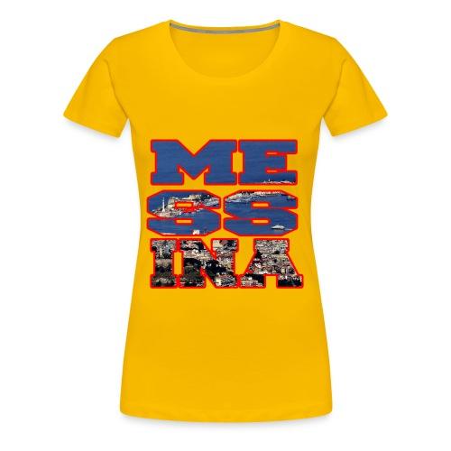 MESSINA RED - Maglietta Premium da donna