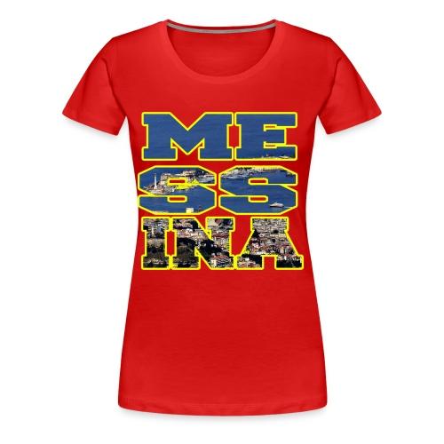 MESSINA YELLOW - Maglietta Premium da donna