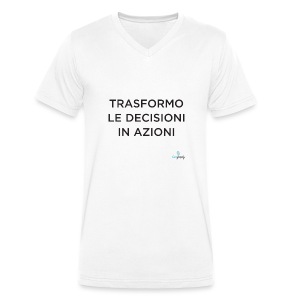 T-shirt ecologica da uomo con scollo a V di Stanley & Stella