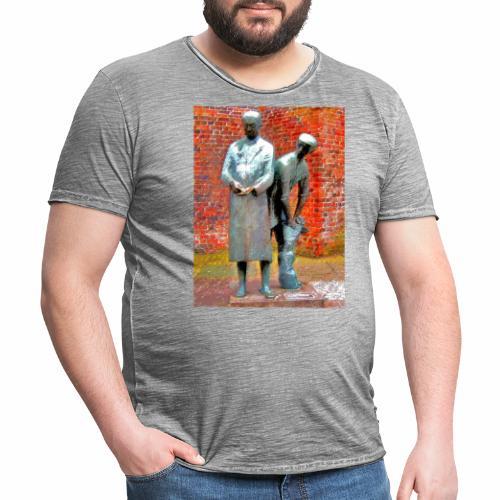 T-Shirt Uhlenköper - Männer Vintage T-Shirt
