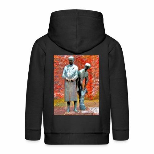 T-Shirt Uhlenköper - Kinder Premium Kapuzenjacke