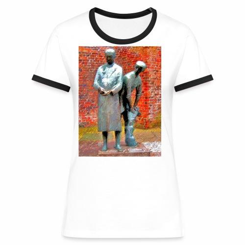 T-Shirt Uhlenköper - Frauen Kontrast-T-Shirt