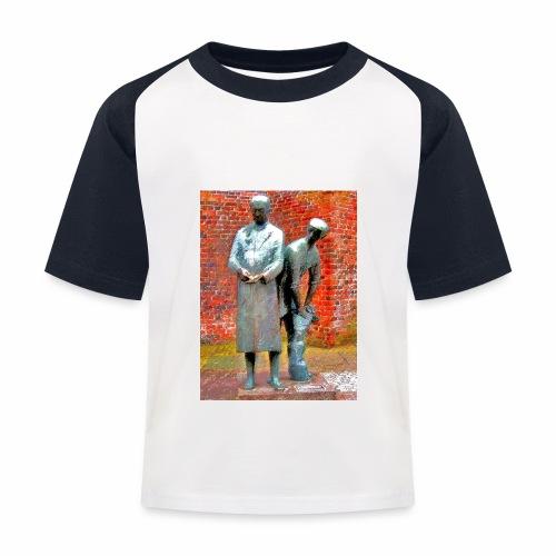T-Shirt Uhlenköper - Kinder Baseball T-Shirt