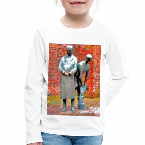 T-Shirt Uhlenköper - Kinder Premium Langarmshirt