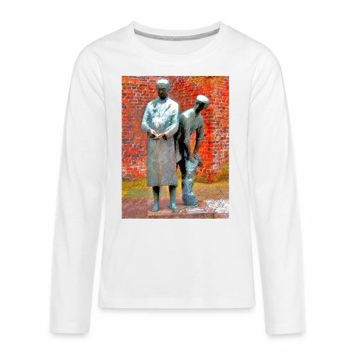 T-Shirt Uhlenköper - Teenager Premium Langarmshirt