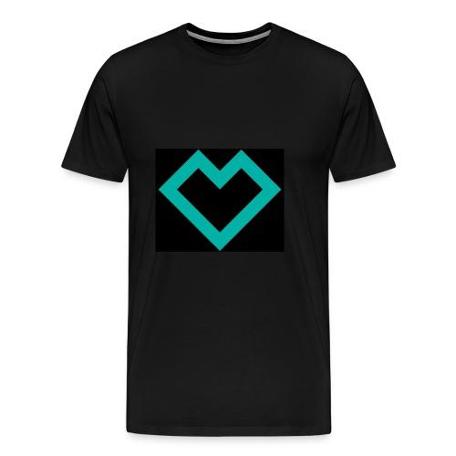logo tank-top - Männer Premium T-Shirt