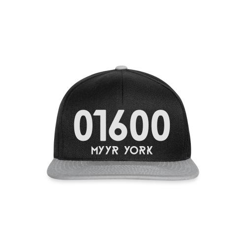 01600 MYYR YORK - Snapback Cap