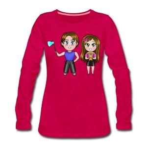 T-Shirt Premium EL & KIRIA Chibi ♀ - Maglietta Premium a manica lunga da donna