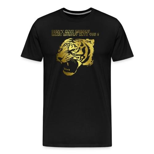 Goldener Löwe - Männer Premium T-Shirt