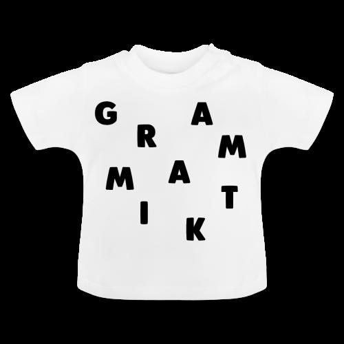 Grammatik - T-shirt (unisex) - Baby T-shirt