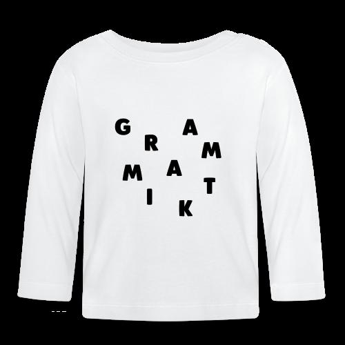 Grammatik - T-shirt (unisex) - Langærmet babyshirt