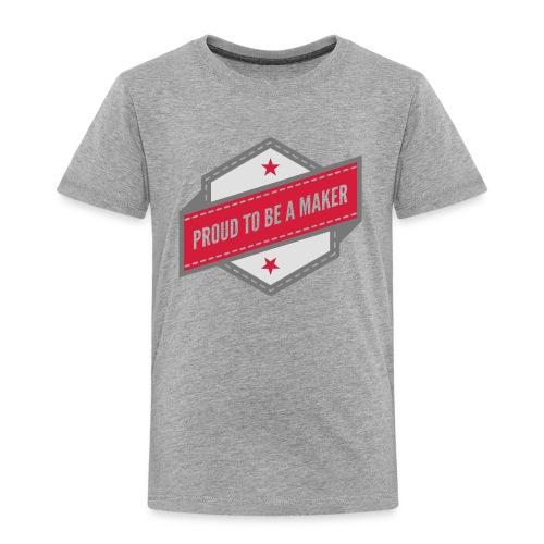 T-Shirt Proud to be a maker - T-shirt Premium Enfant