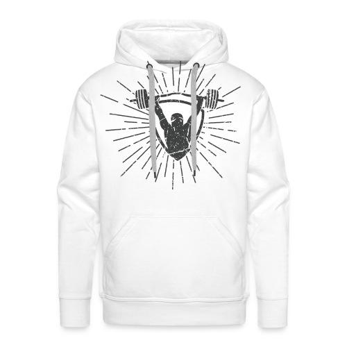 Gewichtheben - No Pain No Gain T-Shirts - Männer Premium Hoodie